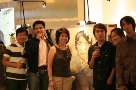 Dean Tina Colayco of the UP College of Fine Arts graces General Assembly at the Powerplant Mall in Rockwell 2009