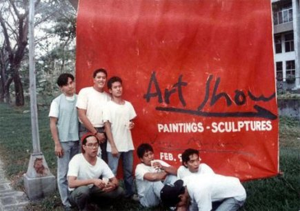 Art Show at Vargas Museum in 1989